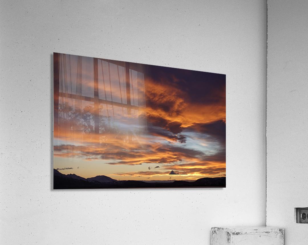 Icelandic Sunrise  Acrylic Print