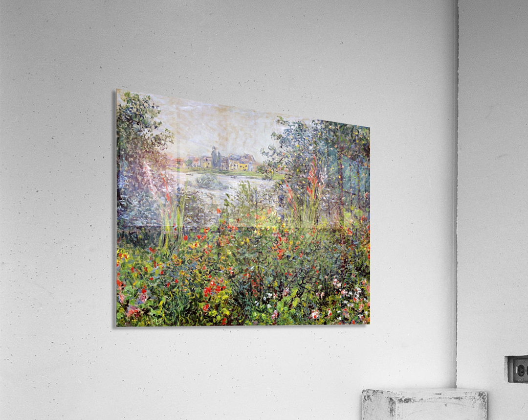 Flowers at Vetheuil  Acrylic Print