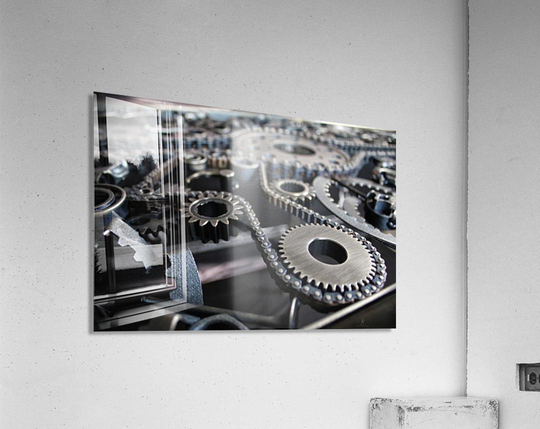 Cam chain  Acrylic Print