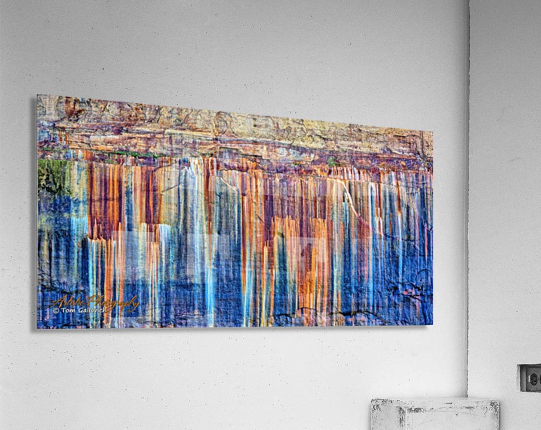 Painted Coves - APC-334  Acrylic Print