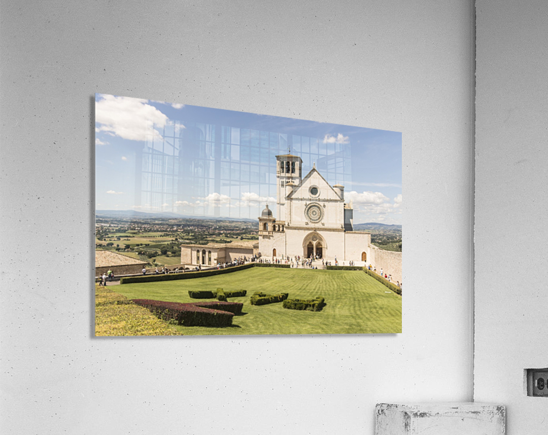 Assisi church  Acrylic Print