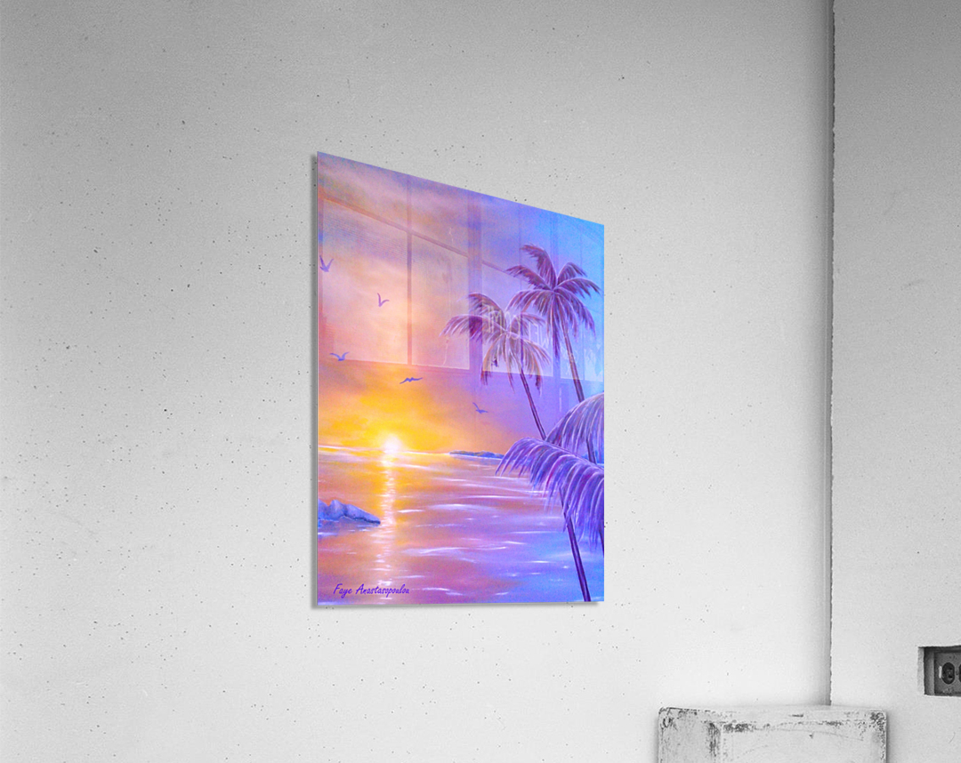 Tropical Breeze  Acrylic Print