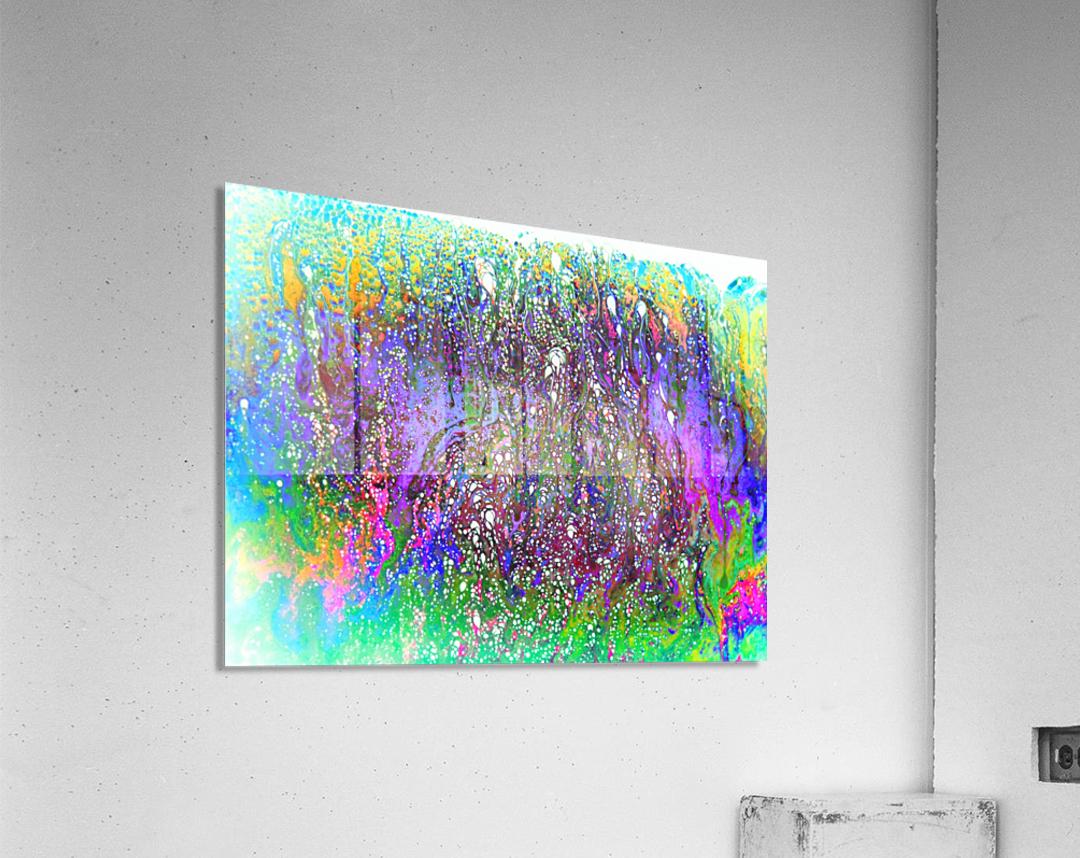 Bubbles Reimagined 61  Acrylic Print