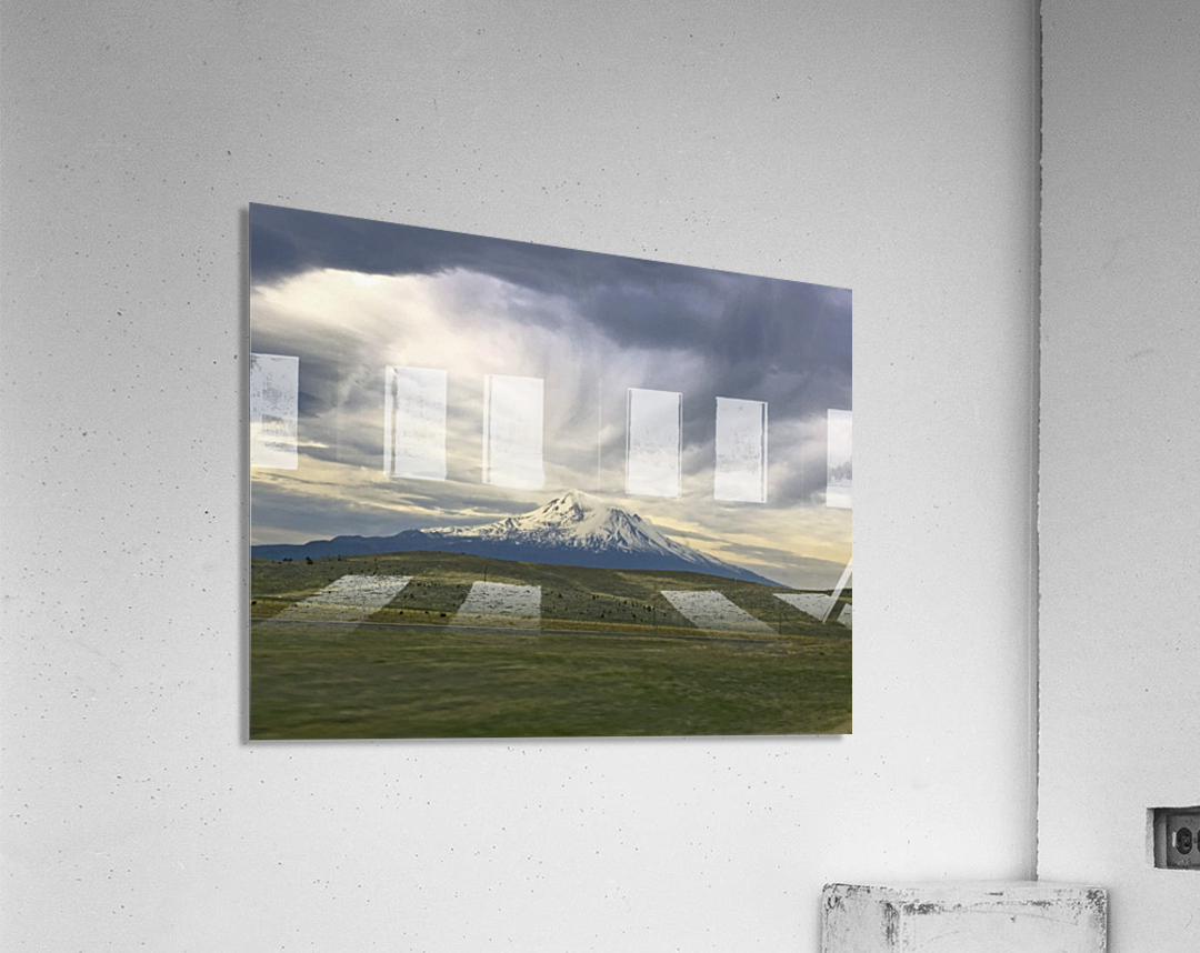 Shasta 1  Acrylic Print
