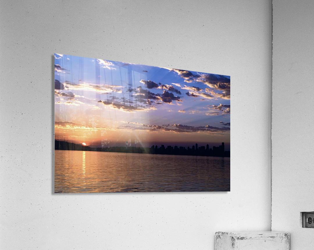 Puget Sound Sunrise  Acrylic Print