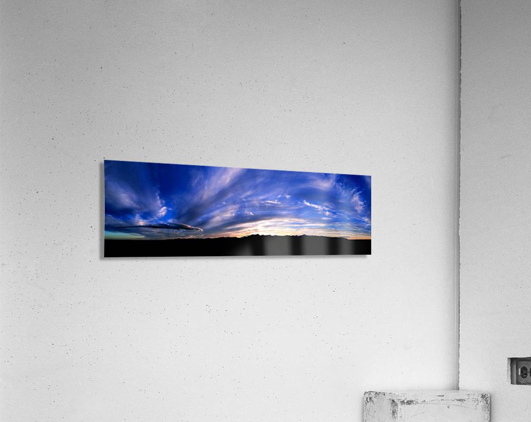 Western Sky Pano  Acrylic Print