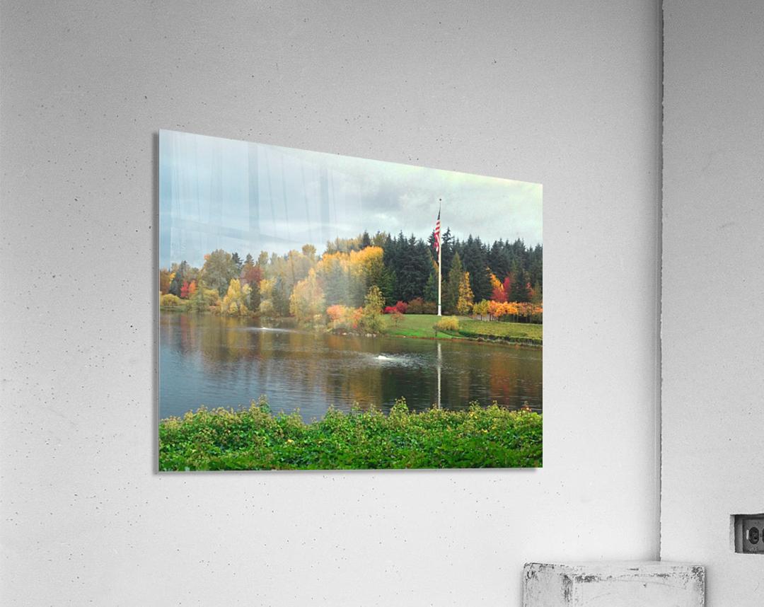 Weyerhaeuser HQ last View  Acrylic Print