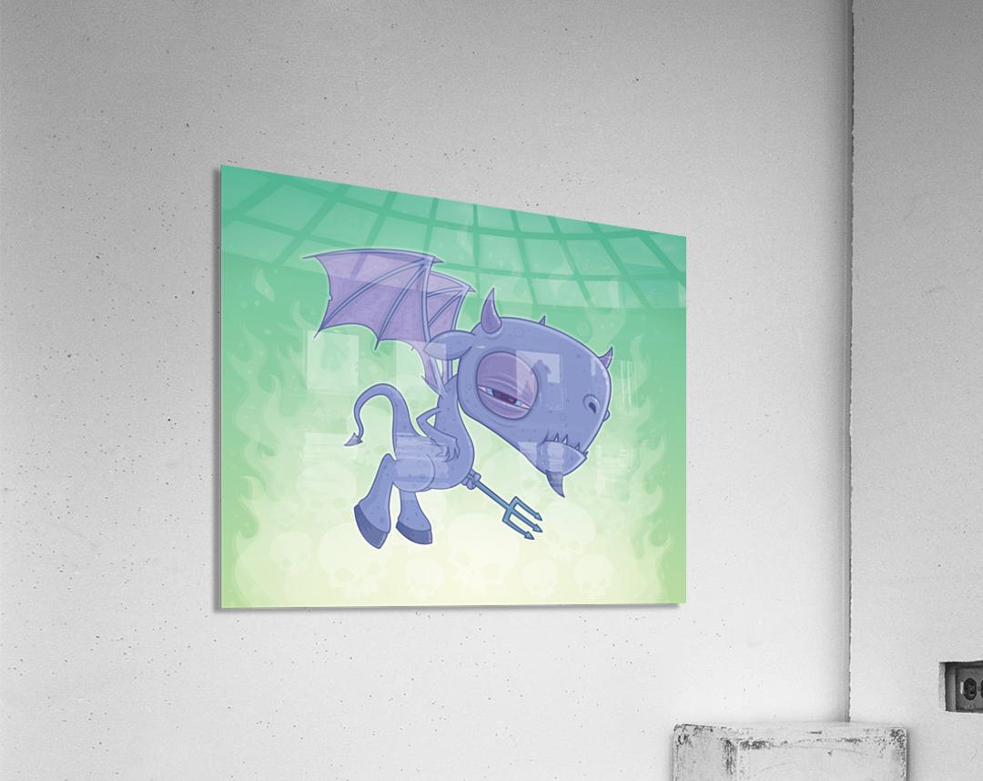 Pitchy  Acrylic Print