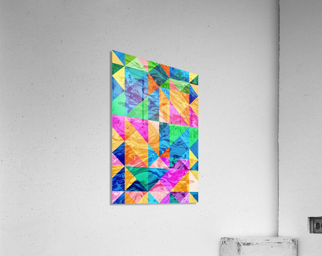 Geometric XXIX  Acrylic Print