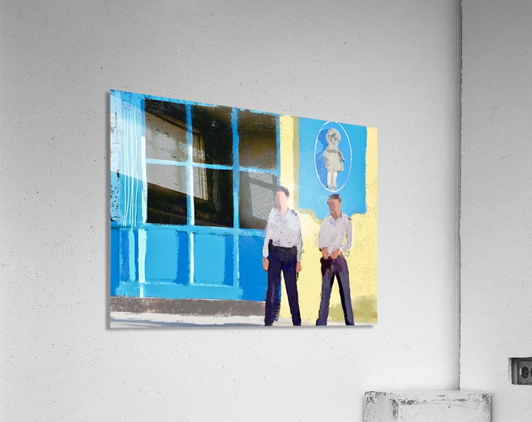Cuba Guards  Acrylic Print