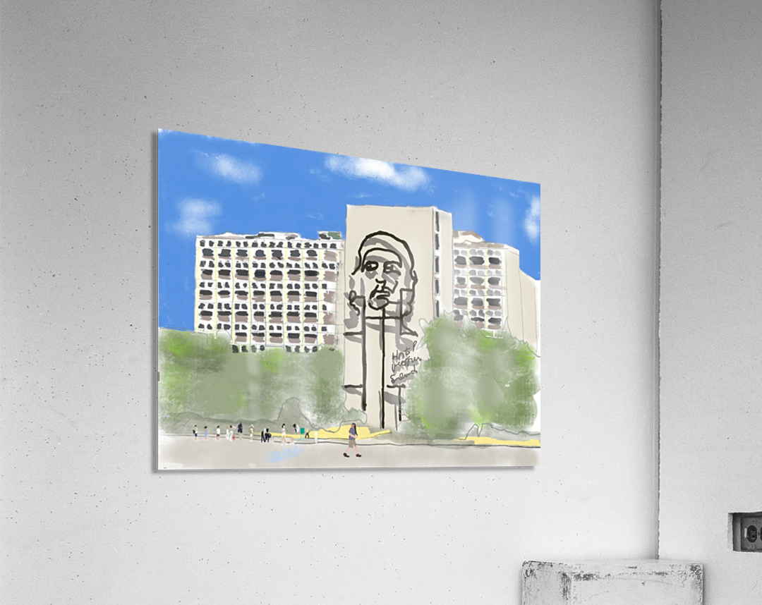Cuba Revolution Square  Acrylic Print
