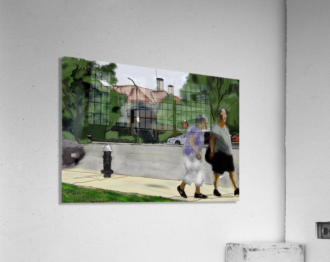 Lexington Louise and Friend  Acrylic Print