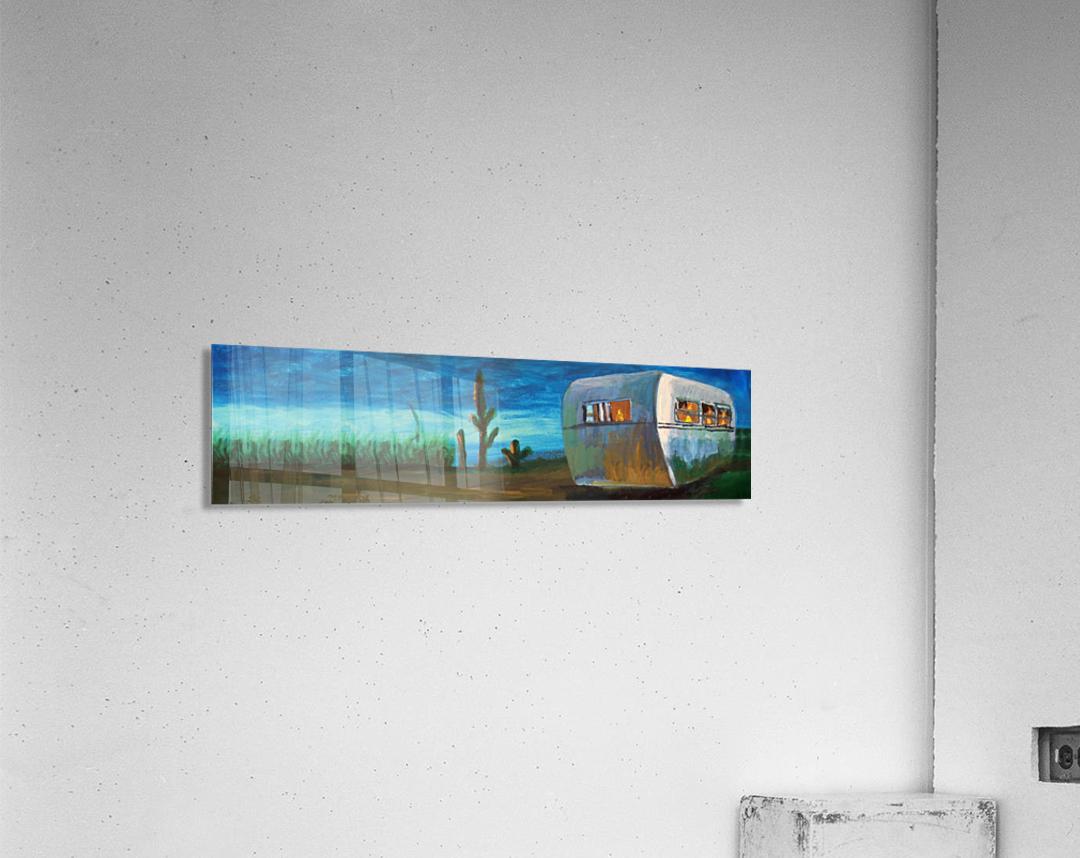 Airstream by Nancy D.  Acrylic Print