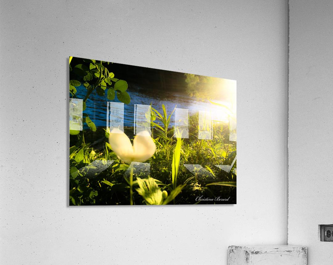 Sense2  Impression acrylique