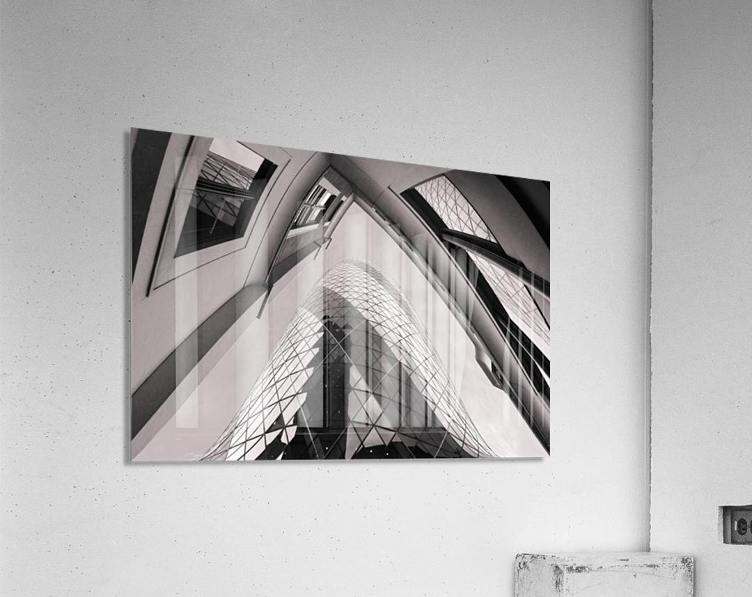 Gherkin  Acrylic Print