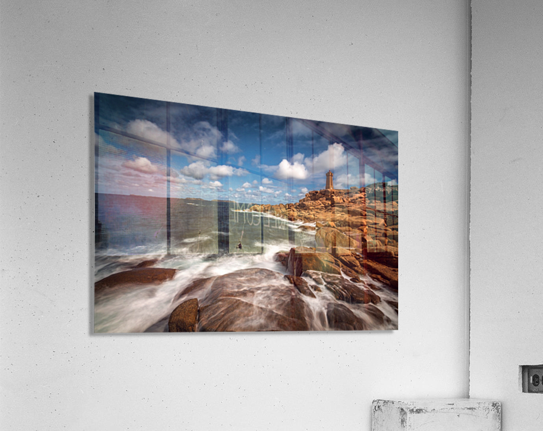 Le phare de Ploumanac'h  Acrylic Print