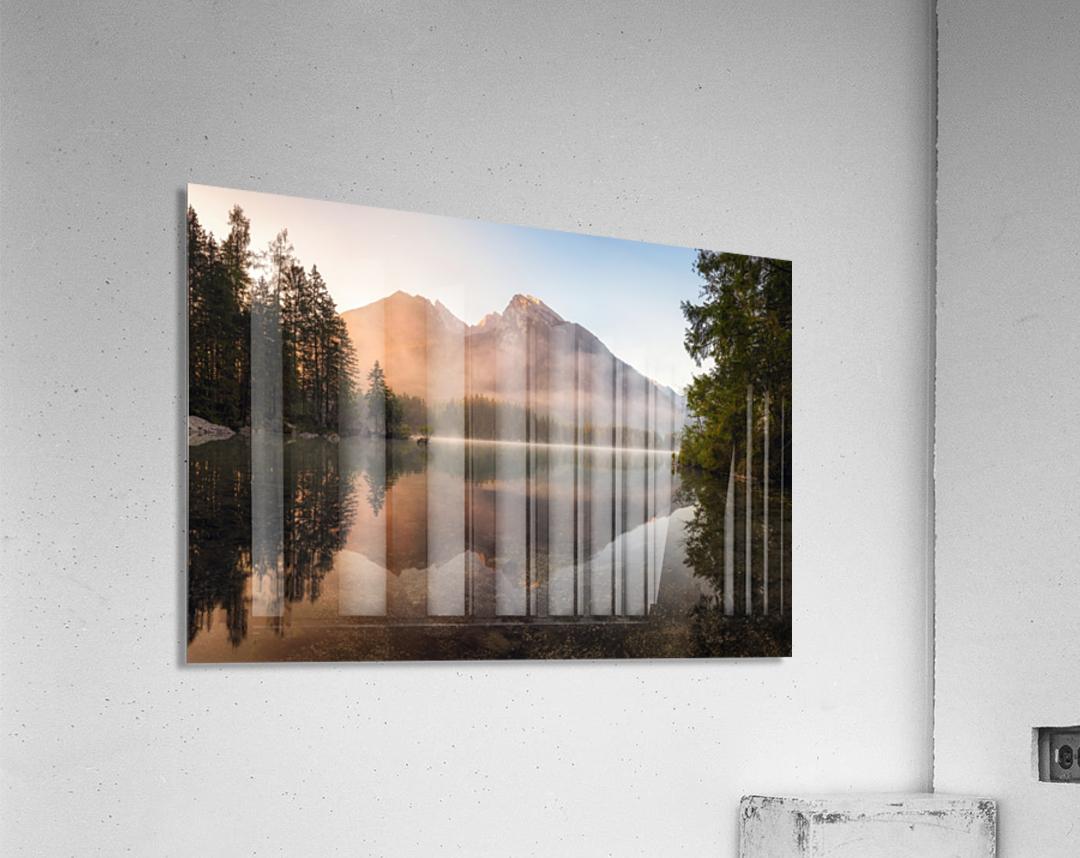 Glowing Mist  Acrylic Print
