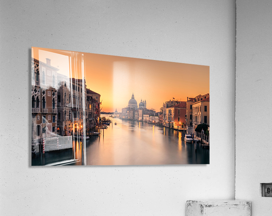 Dawn on Venice  Impression acrylique