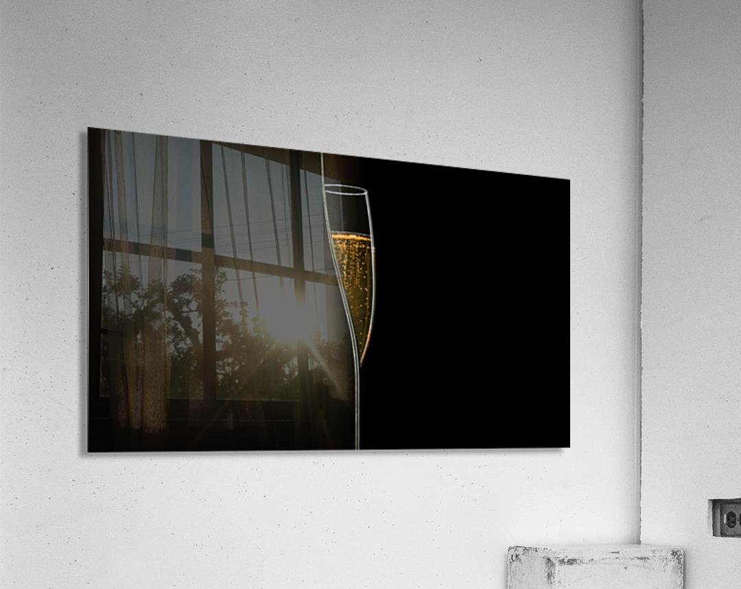Lines of Light  Acrylic Print