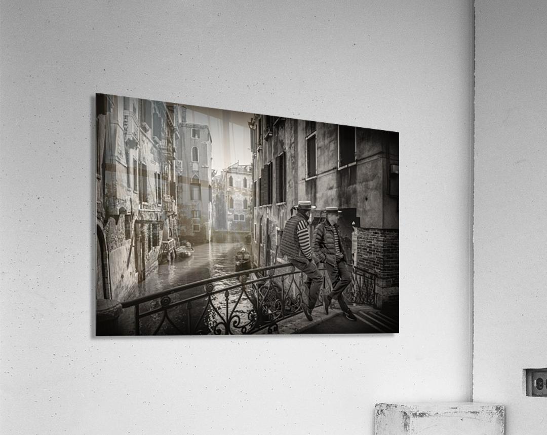 Gondolieri  Acrylic Print