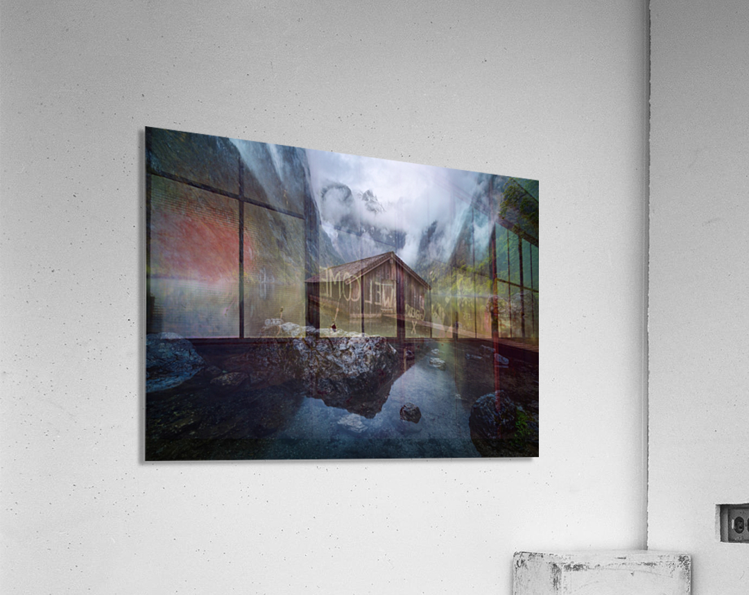 Ober-View  Acrylic Print