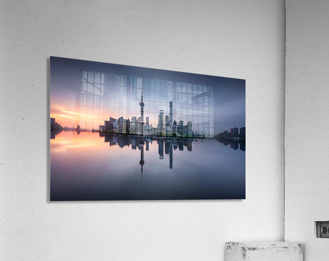 Good Morning Shanghai  Acrylic Print