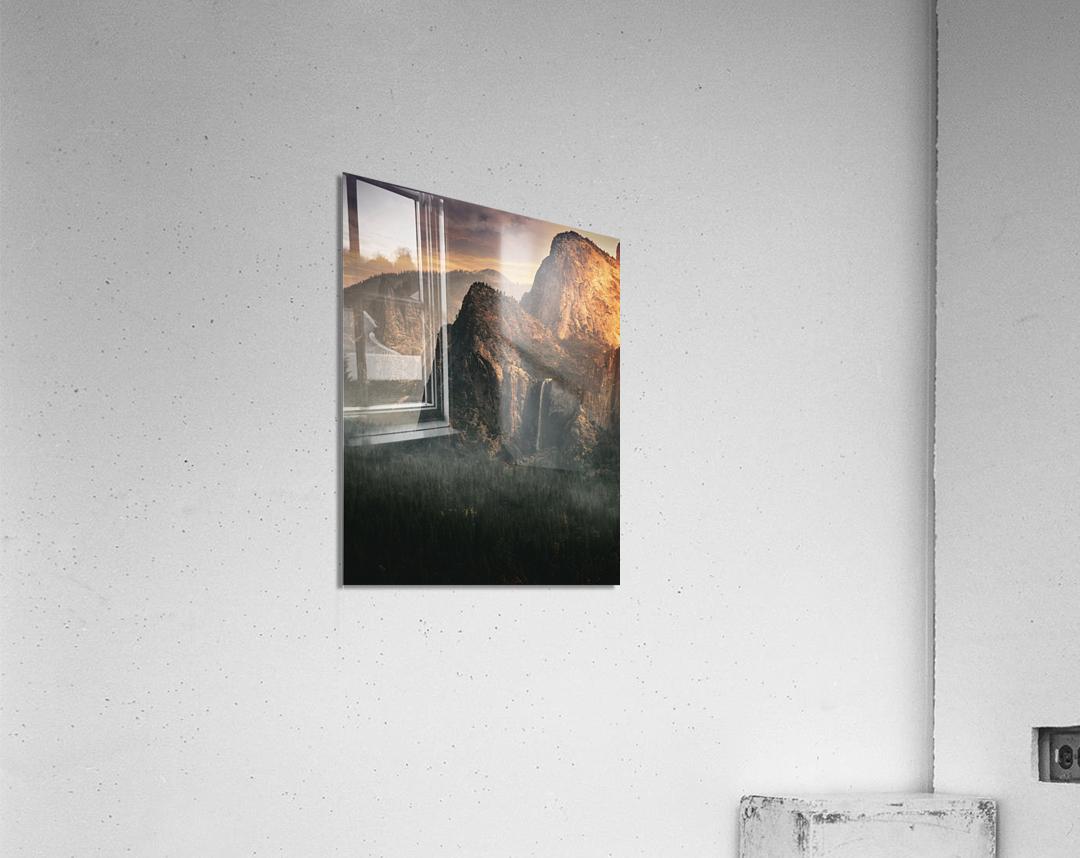 Bridalveil fall, Yosemite  Acrylic Print