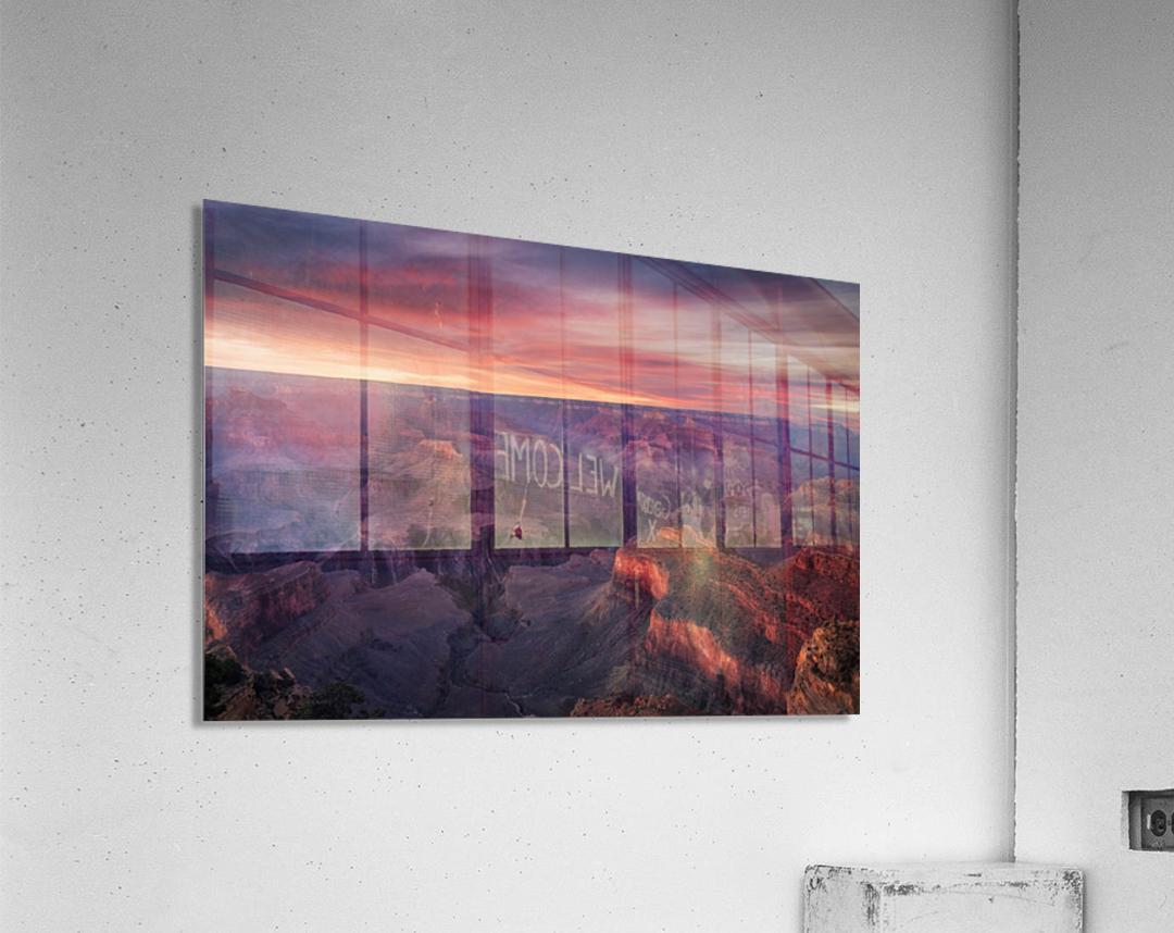 Canyon on Fire  Acrylic Print