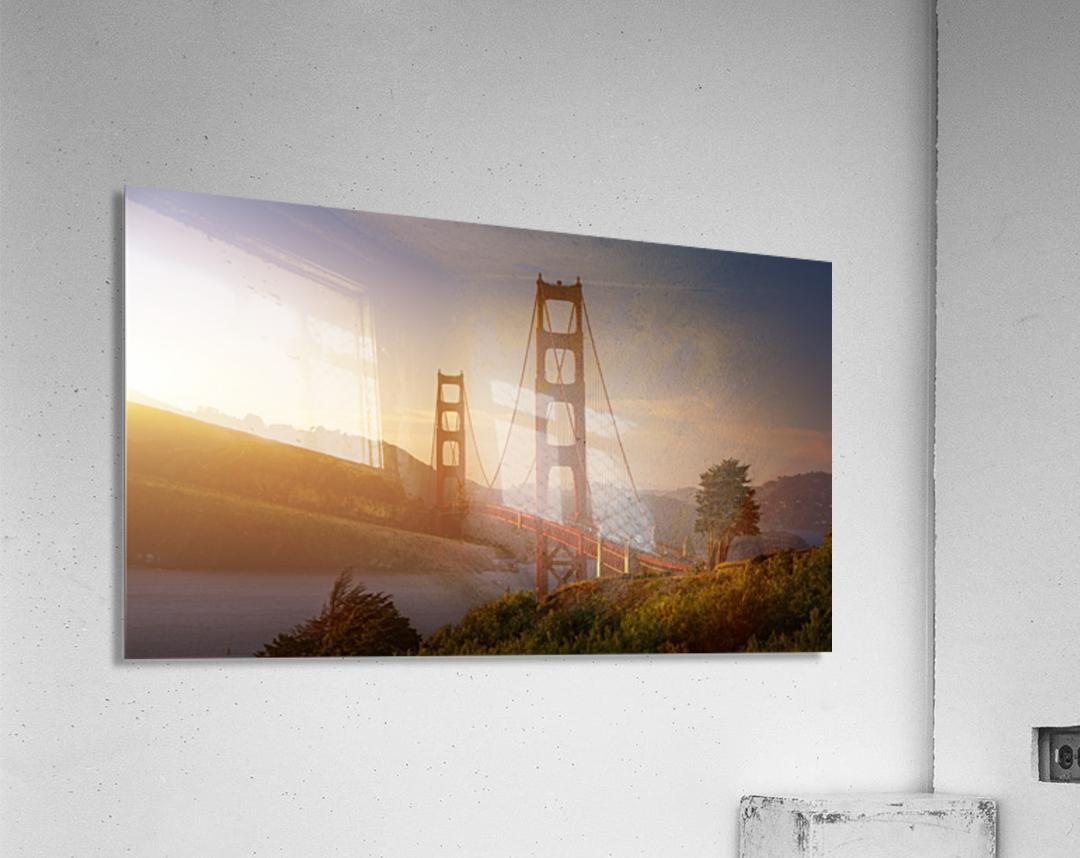 South Golden Gate.  Impression acrylique