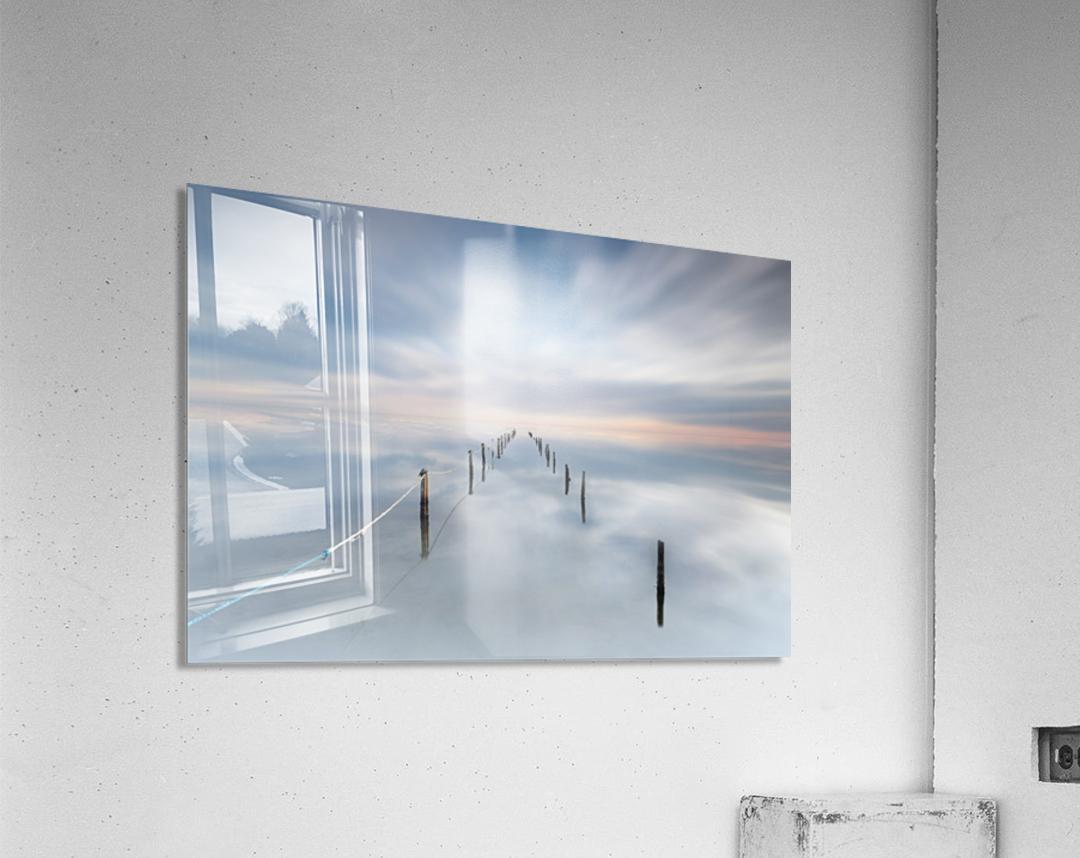The calm  Acrylic Print