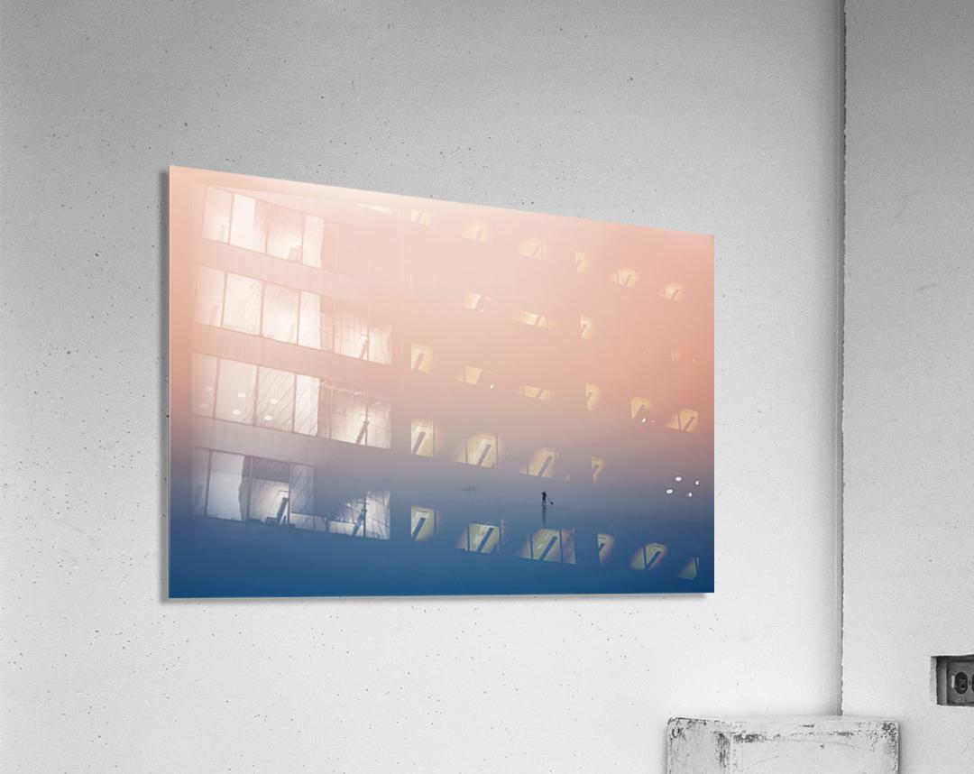 stand up paddling  Acrylic Print