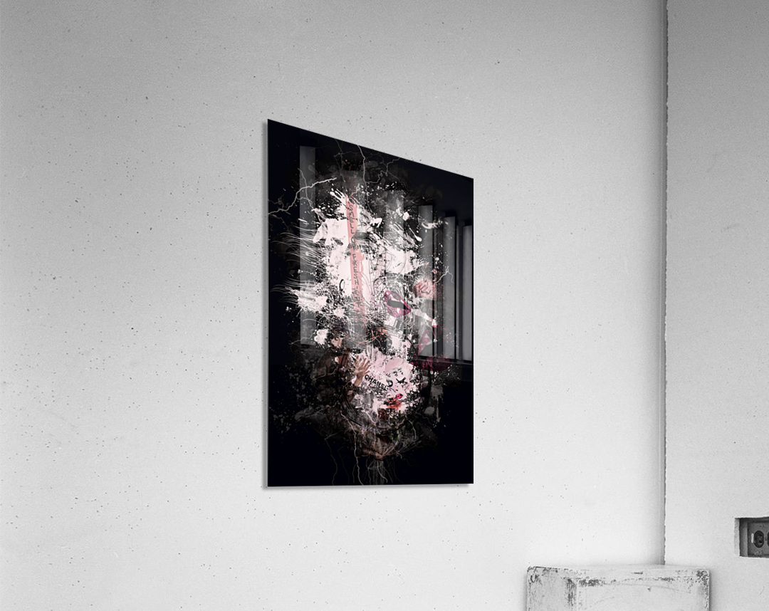 I Love Chanel N°388  Acrylic Print