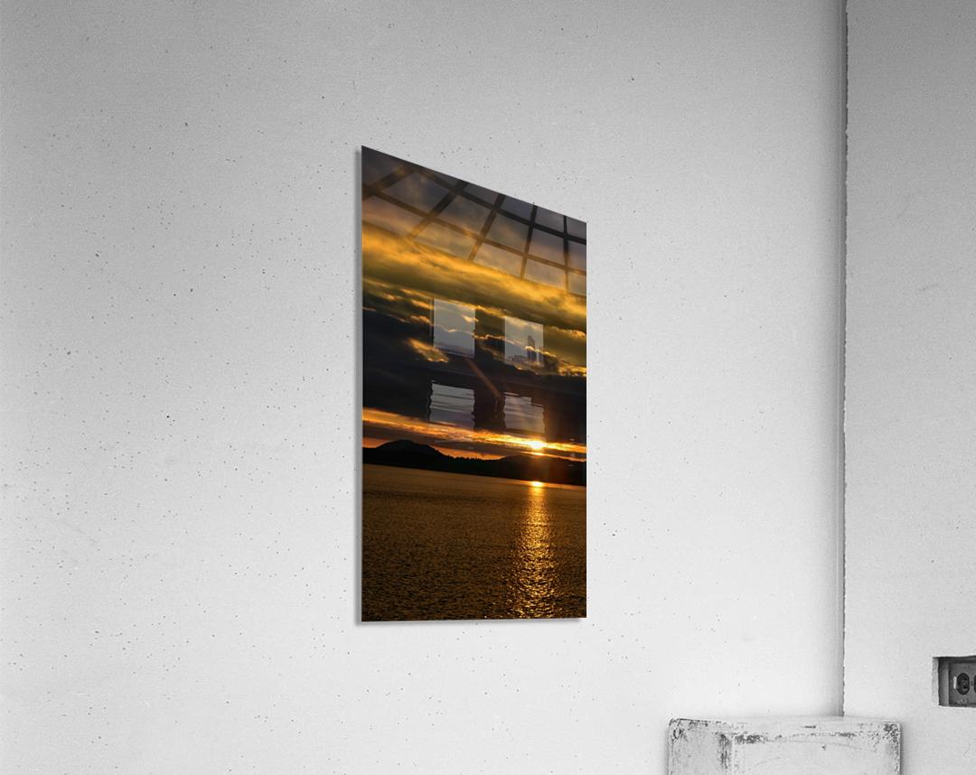 Good morning sunshine  Impression acrylique