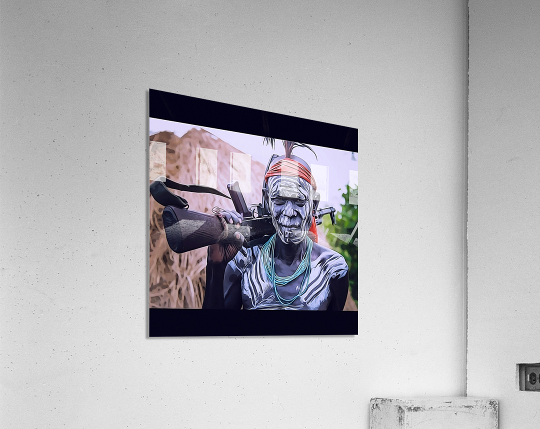 Afar Warrior  Acrylic Print