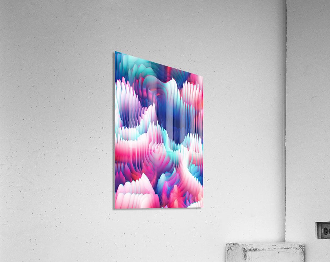 Into The Unknown XXIII  Impression acrylique