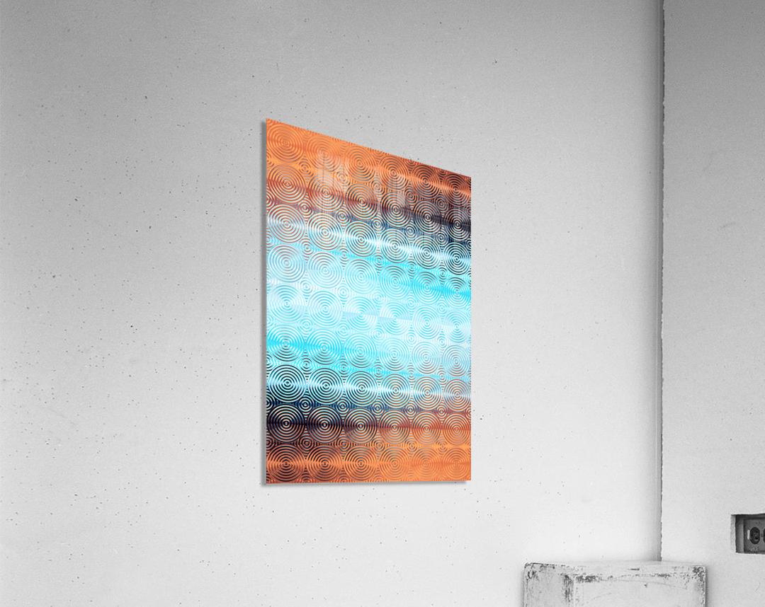 Geometric Pattern  Acrylic Print