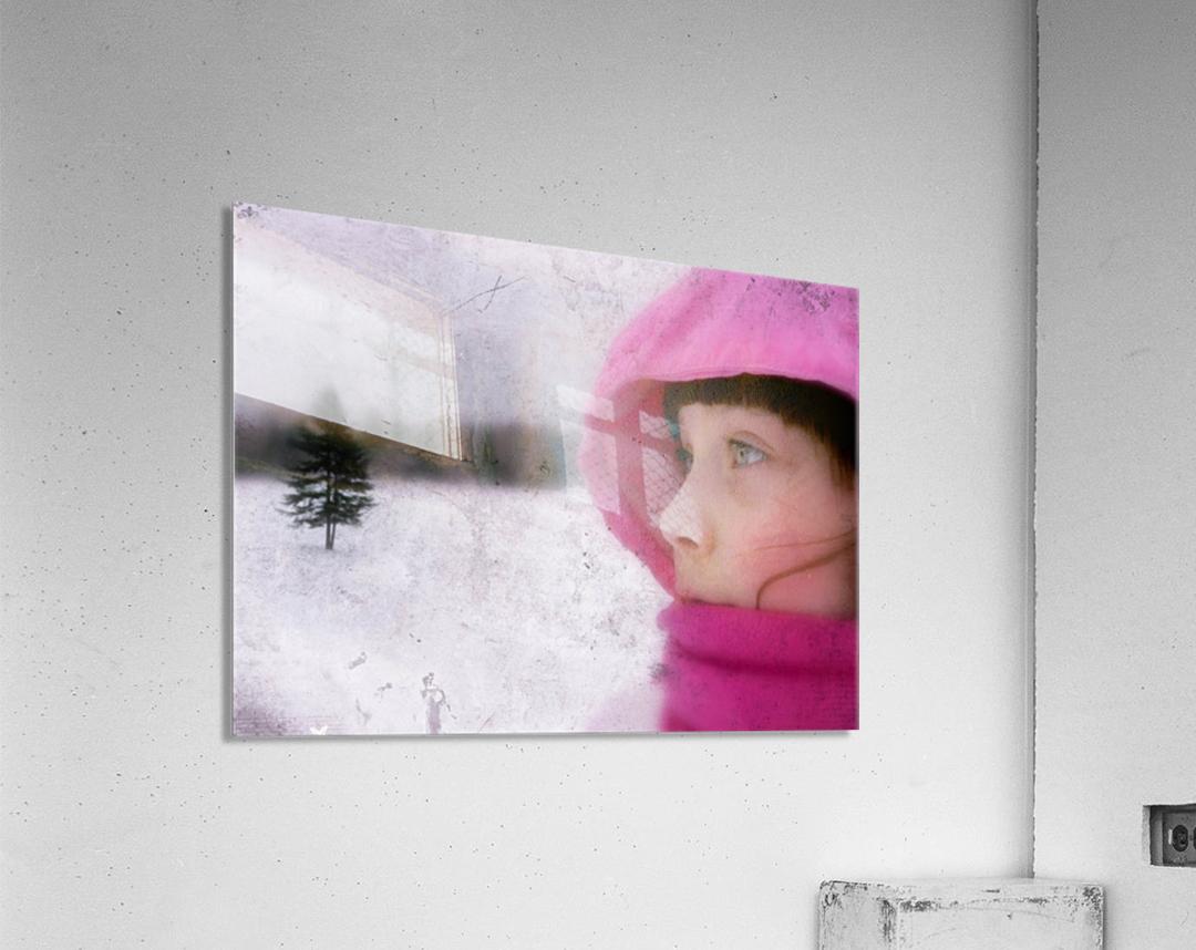 Winter pink  Acrylic Print