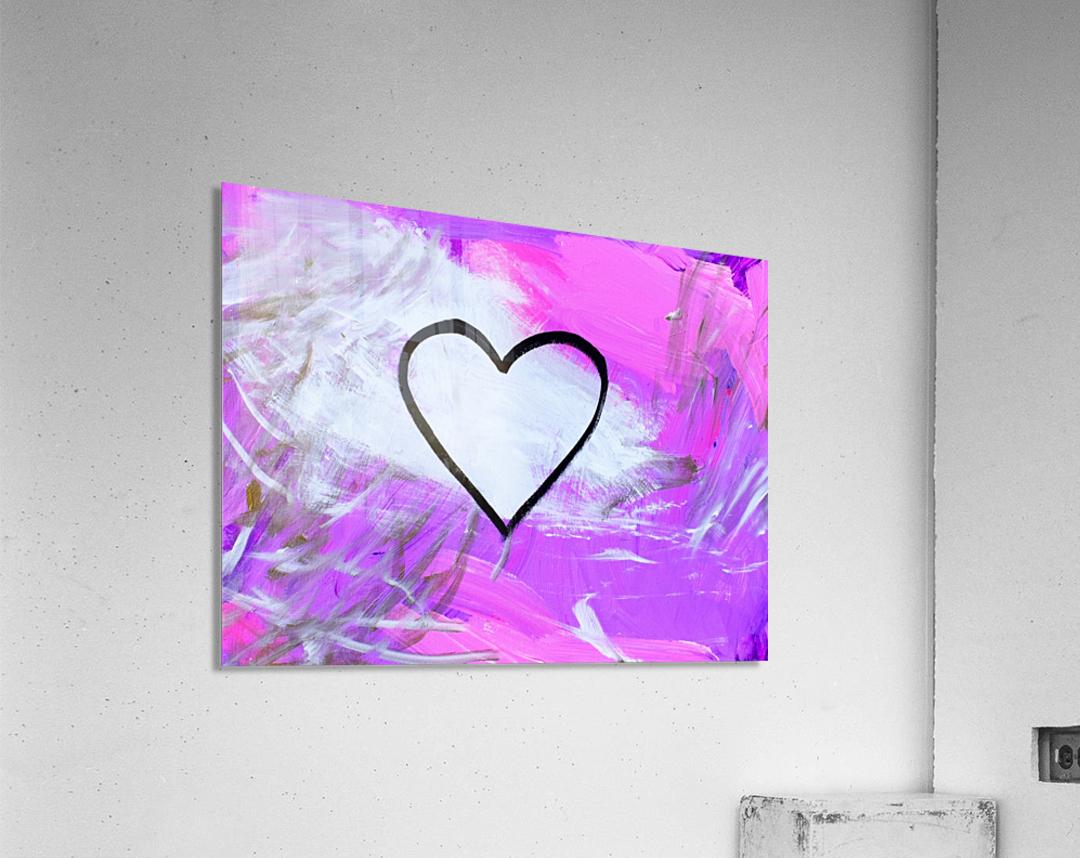 Love is a Feeling. Jessica B  Acrylic Print