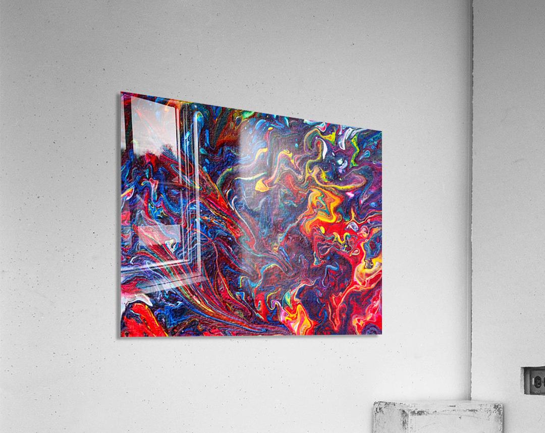 Love. Donald M  Acrylic Print