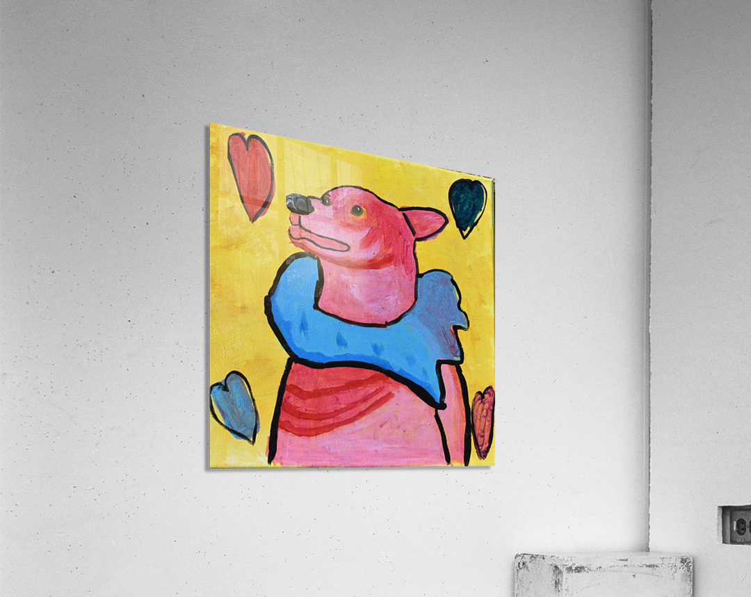 Happy Dog. Jana A.  Acrylic Print