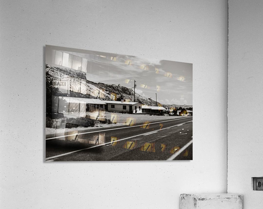Old Motel  Impression acrylique
