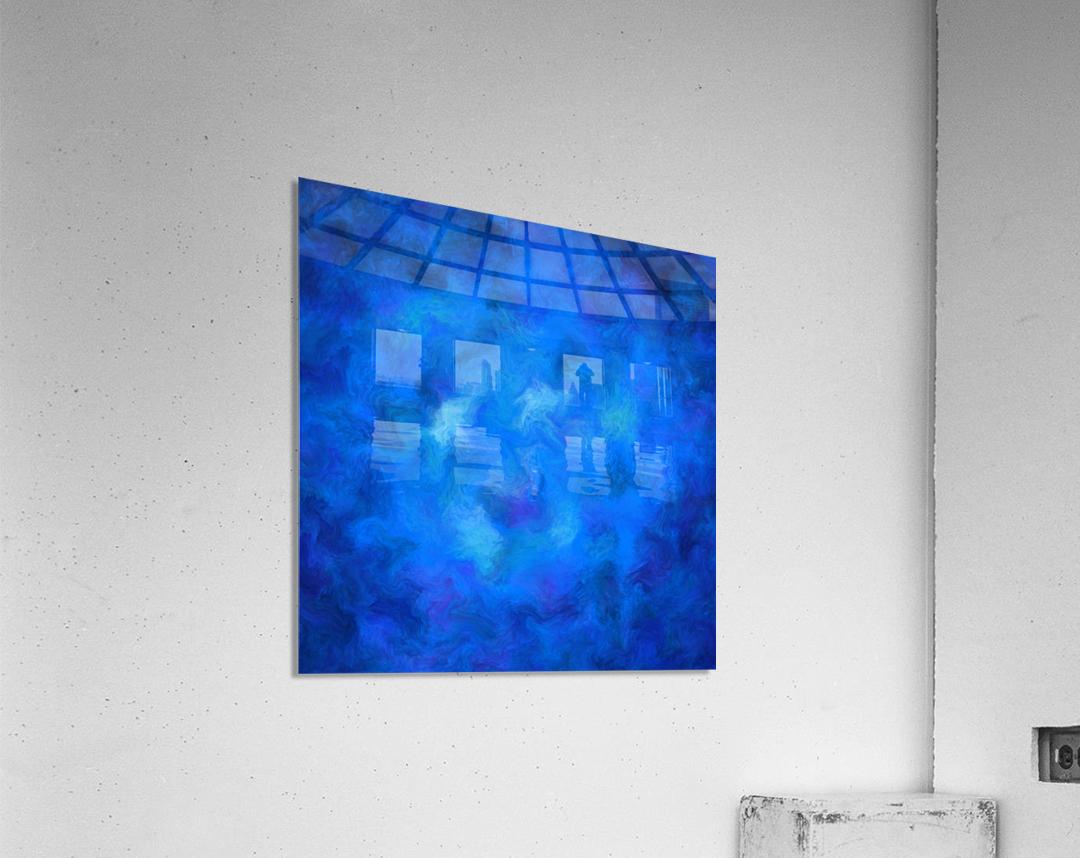 Denitamessa - deep blue world  Acrylic Print