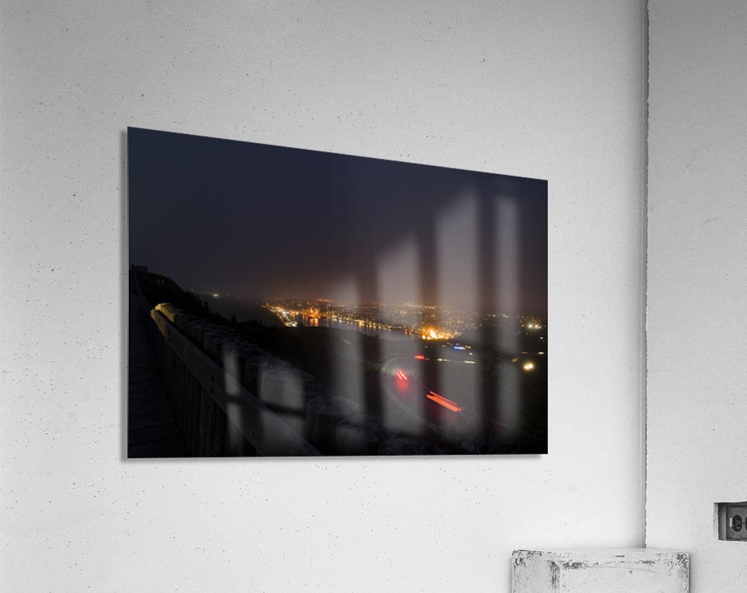 Night Scene from Signal Hill 7  Acrylic Print