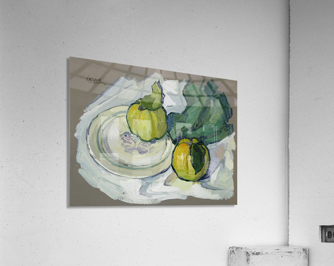 Still Life with Quince  Acrylic Print