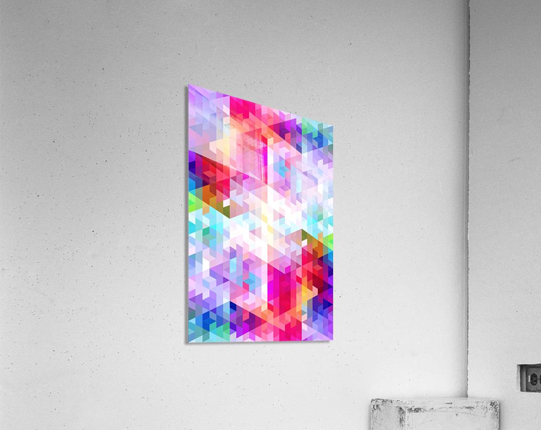 VIVID PATTERN VIII  Acrylic Print