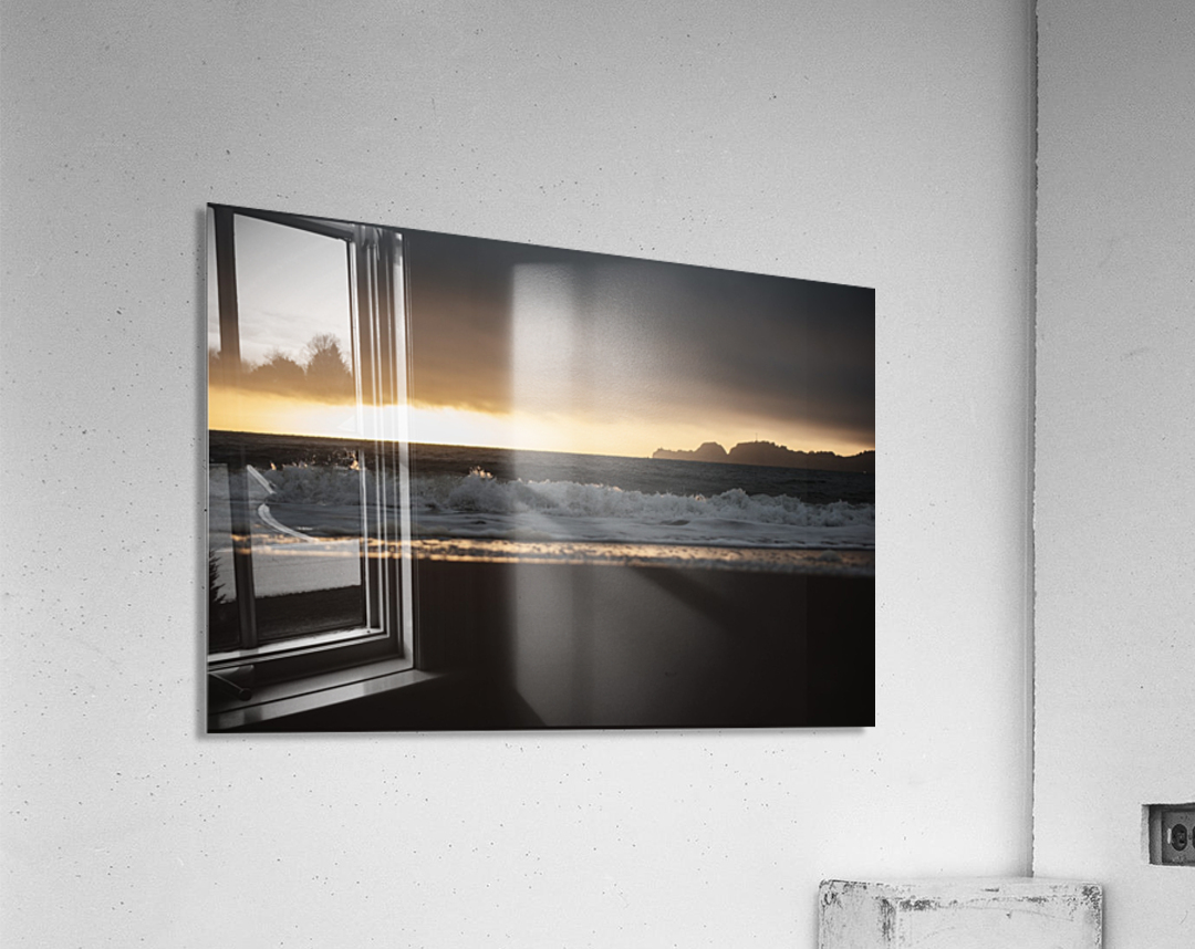San Francisco Sunset  Impression acrylique