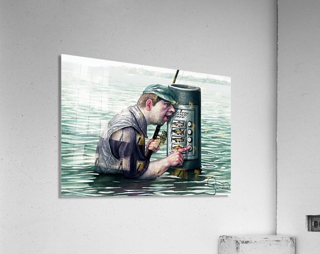 Call for fish by Krzysztof Grzondziel  Acrylic Print