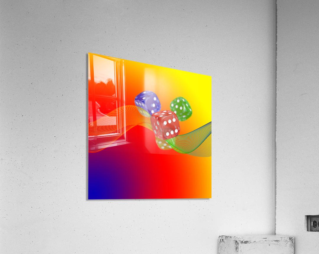 Dice 2  Acrylic Print