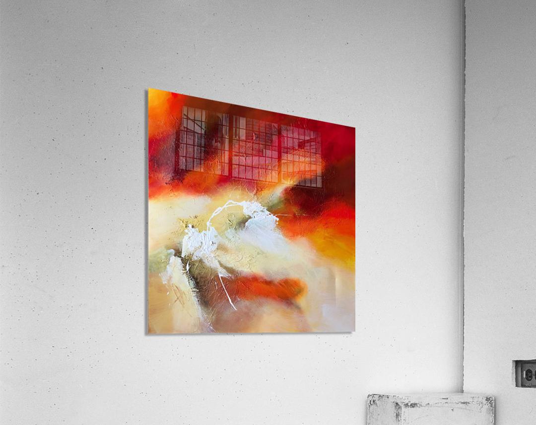 Feeling the heat  Acrylic Print
