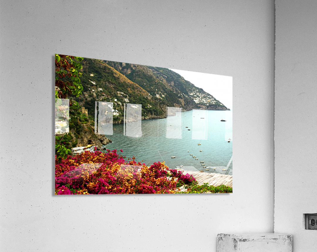 Amalfi Coast landscape   Acrylic Print